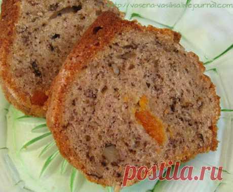 Кекс банановый с орехами и сухофруктами - Горбушка хлеба — LiveJournal