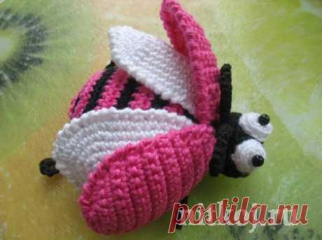 Майский жук-весельчак » Ниткой - вязаные вещи для вашего дома, вязание крючком, вязание спицами, схемы вязания