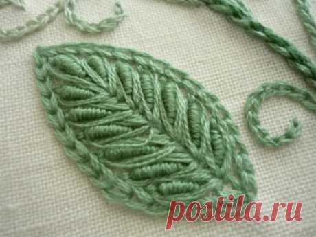 Милый цветок вышивка   【от занятия вышивкой】от прогресса вышивки блог