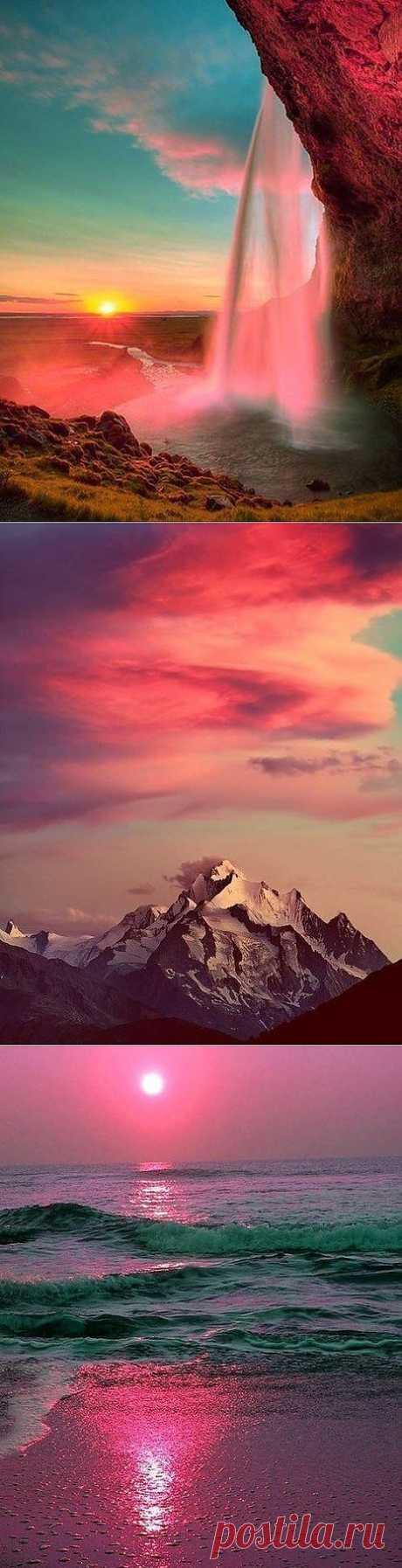 Малиновые закаты