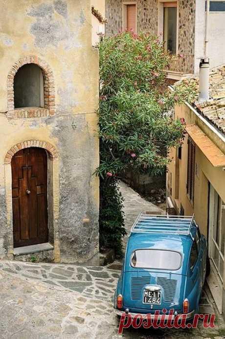 Прекрасные улочки Италии