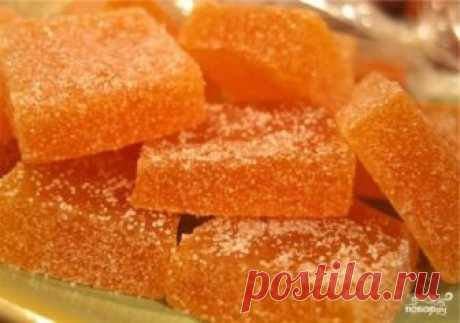 Яблочный мармелад в домашних условиях - пошаговый рецепт с фото на Повар.ру