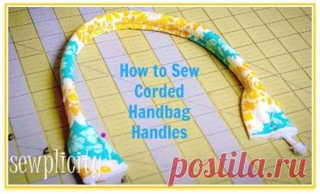 Production of handles to scrappy bags. master class. — Make itself, ideas for creativity - DIY Ideas