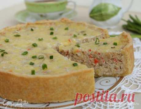 Пирог-суфле с рыбой - это нереально вкусно - нежно, сочно, ароматно!