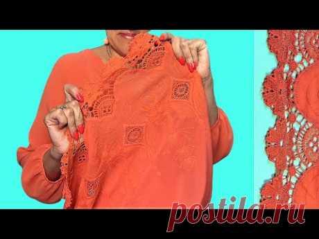 Блуза ОГОНЬ с ШИТЬЕМ от Владанны 🔥 Соединяем крой по точкам