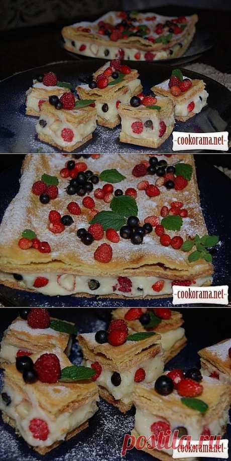 """Пирог """"Ягодная заварнушка"""" / Пироги / Кукорама — вкусные рецепты!"""