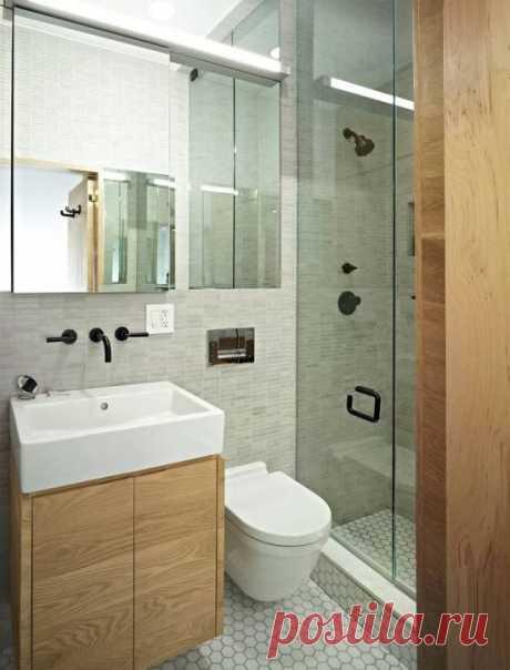 Душевые кабинки в интерьерах ванных комнат   Роскошь и уют