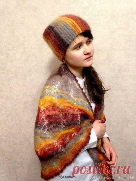 Самая простая шапка-чулок крючком схема и описание | Вязана.ru