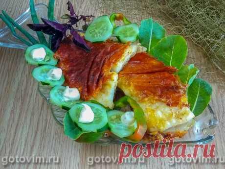 Жареная пикша в сырной панировке с овощами. Рецепт с фото Простой рецепт приготовления филе пикши с сырной корочкой. Для панировки выбирайте сыр твердых сортов, который не очень активно плавится. Перед запеканием рыбу желательно замариновать в смеси лимонного сока с приправами по вашему вкусу.