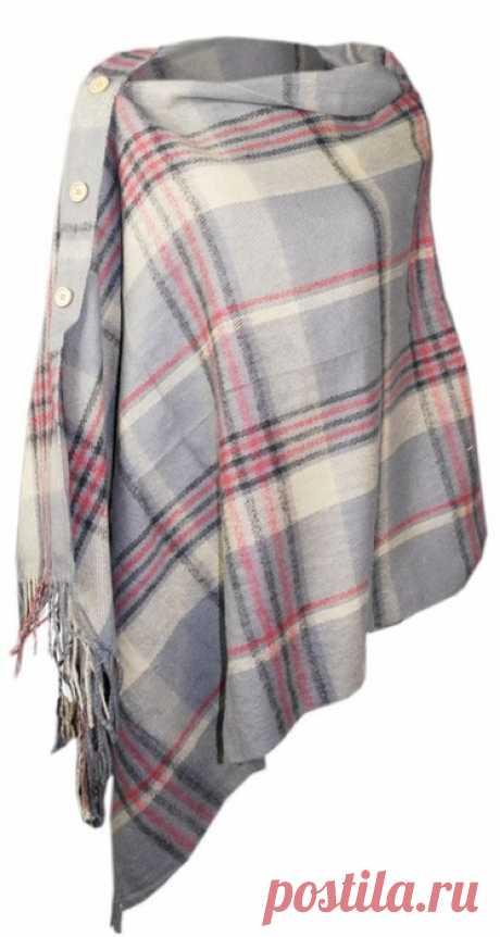Уютные идеи для широкого шарфа