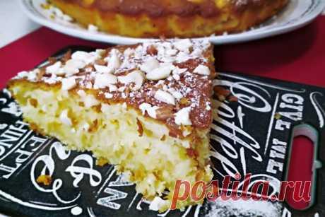 Лимонный пирог на сметане - Готовим с нами