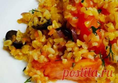 (17) Булгур с маслинами и томатами - пошаговый рецепт с фото. Автор рецепта Юлия Зинурова🏃♂️ . - Cookpad
