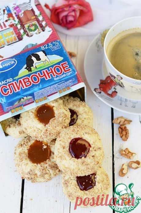 Творожное печенье с начинкой - кулинарный рецепт