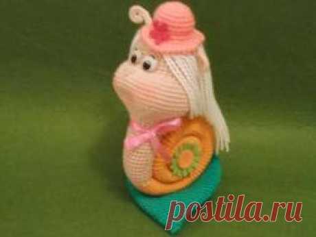 Улитка Бригитка - МК по вязанию игрушек - Форум почитателей амигуруми (вязаной игрушки)