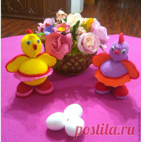 We create an easter chicken from a foamiran - the Fair of Masters - handwork, handmade