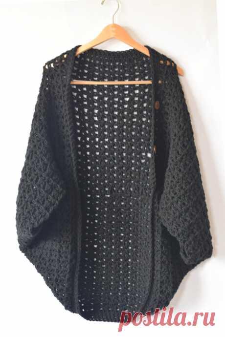 Легкий Одеяло свитер вязания шаблон