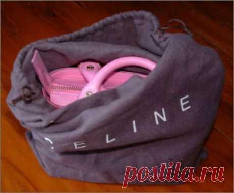 Секреты по уходу за сумками
