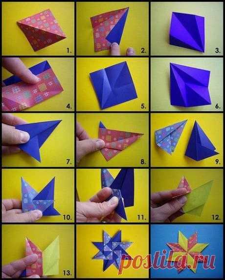 Простое оригами для любого возраста — Поделки с детьми