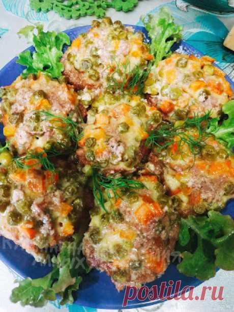 Кулинарная Академия Умных Хозяек: Мясные гнездышки с морковью и горошком