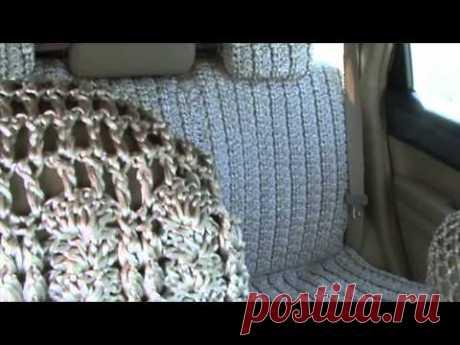 Чехлы на машину крючком со схемами с описанием - Мастер-классы по рукоделию с фото, видео, схемами и описаниями пошагово