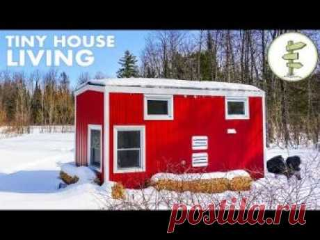 Woman Living in a Tiny House Loves the Small Space & Financial Freedom