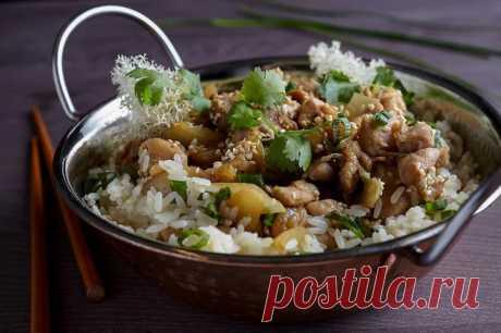 Тушеная курица в соусе терияки с кунжутом – пошаговый рецепт с фото.