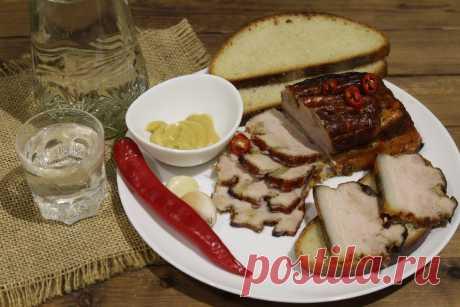 Свиная грудинка запеченная в фольге. На бутерброды будет лучше любой магазинной колбасы   Дилетант на кухне.   Яндекс Дзен