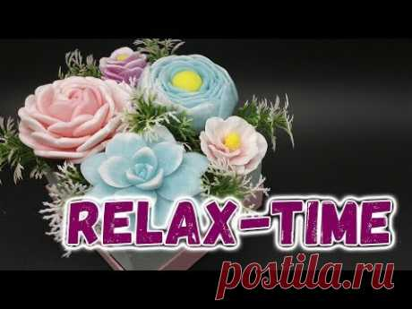 Relax-time 🌼 Букет из мыла в коробочке 🌼 Как сделать мыльный букет 🌼 Мыловарение