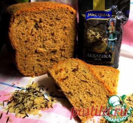 """Хлеб """"Маномио"""" из четырех видов муки с диким рисом и вялеными томатами – кулинарный рецепт"""