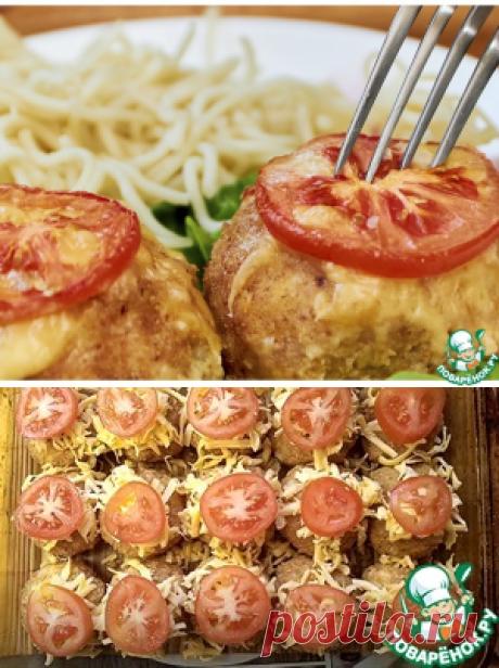 """Мясные шарики """"Красная шапочка"""" – кулинарный рецепт"""