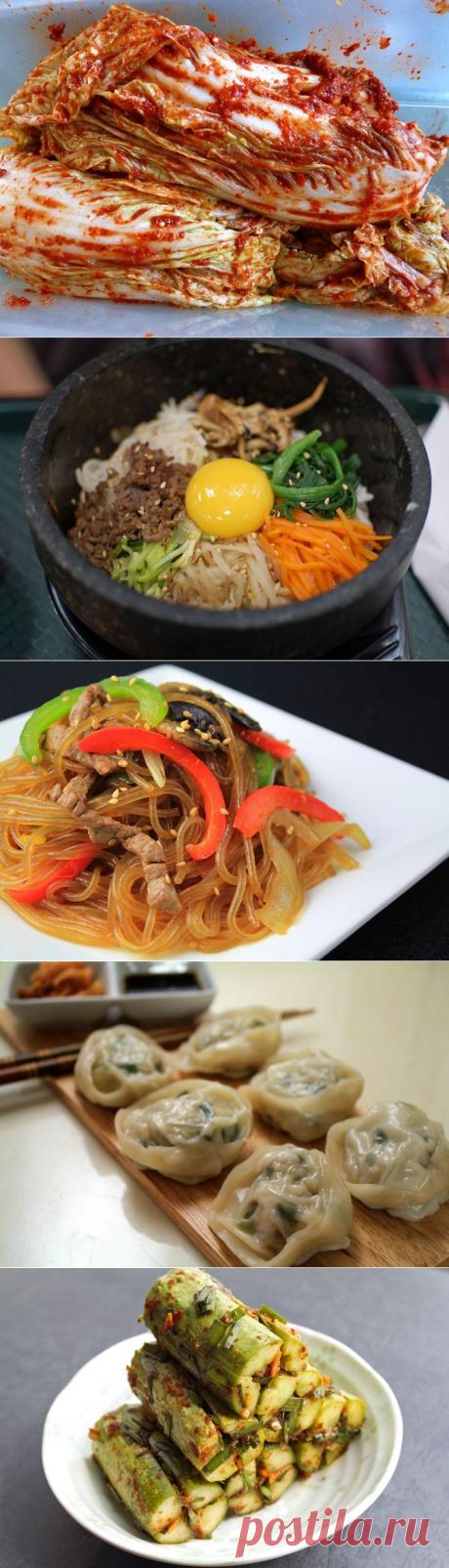 Лучшие блюда традиционной корейской кухни!..