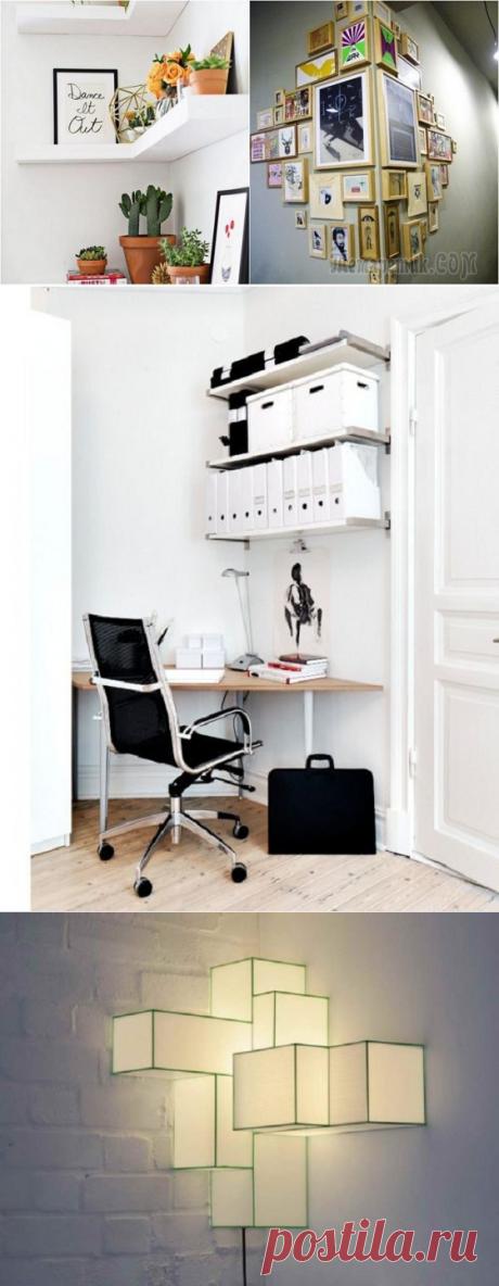 Эффектное заполнение углов в любой из комнат: крутые идеи