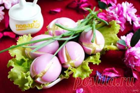 "Закуска ""Крокусы"" - пошаговый рецепт с фото на Повар.ру"