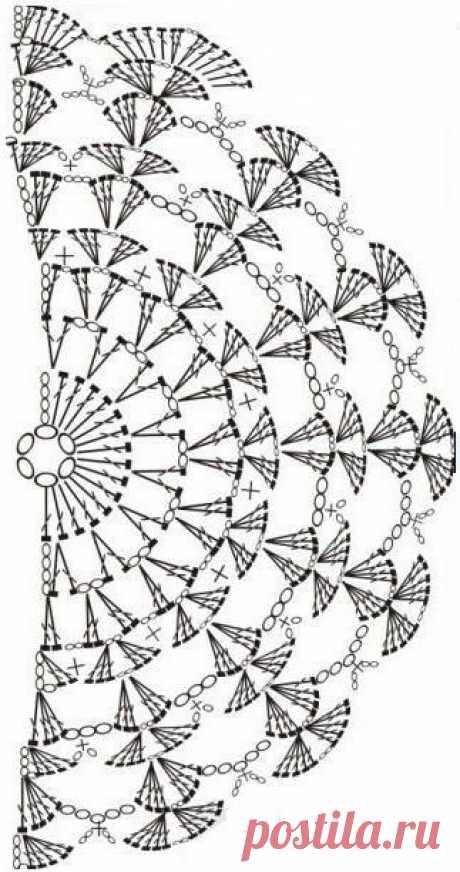 Прошу помощи в поиске схемы - запись пользователя Galina29 (Галина) в сообществе Вязание крючком в категории Вязаные крючком аксессуары