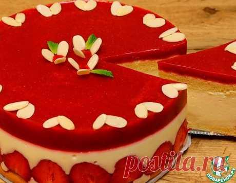 Клубничный торт на агар-агаре – кулинарный рецепт