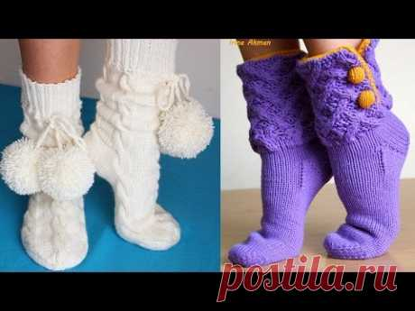 KNITTED SOCKS, GAITERS - The MAIN MEASURES for KNITTING