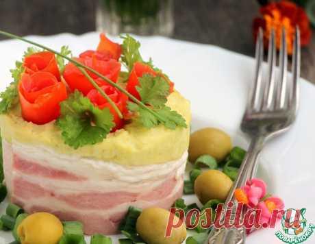 Горохово-картофельная каша с копченым сыром – кулинарный рецепт