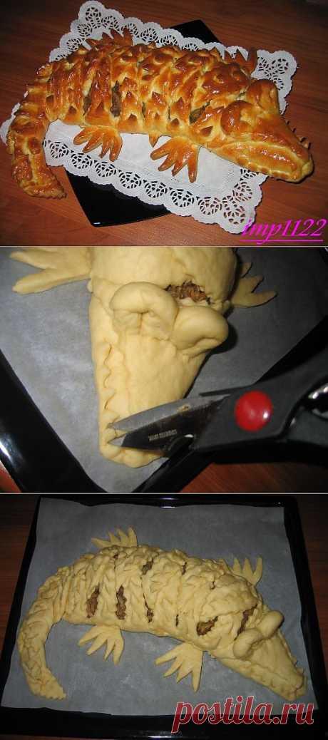 """Мясной пирог """"Крокодил"""" :: NoNaMe"""