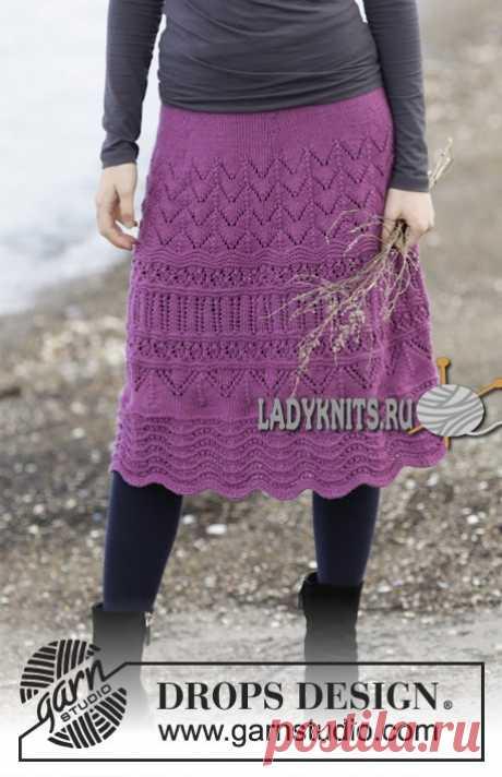 "Openwork demi-season skirt spokes of \""Madison\"""