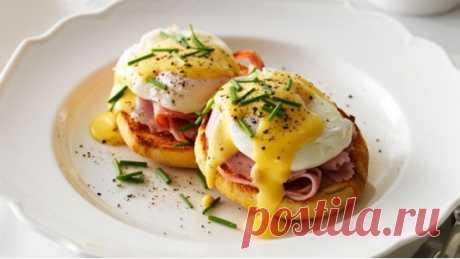 Яйца бенедикт на завтрак рецепт с фото