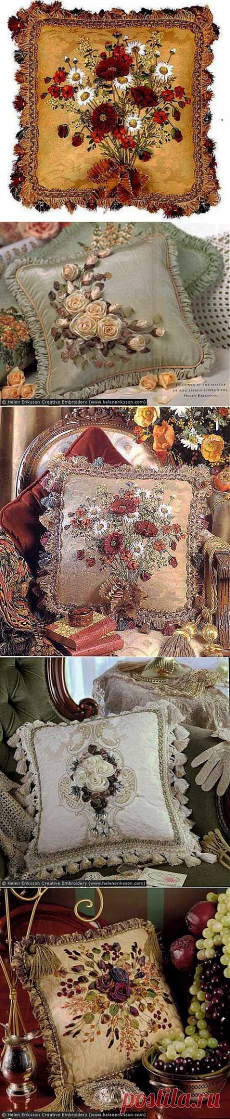 Вышивка лентами | HobbyNotes.ru