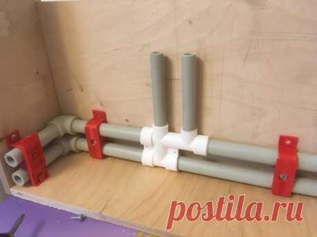 Как проложить полипропиленовые трубы в плинтусах. Пошаговая инструкция   Рекомендательная система Пульс Mail.ru