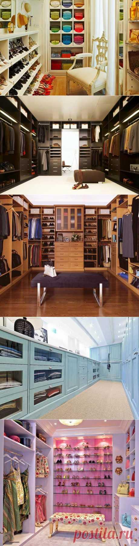 Красивые гардеробные комнаты (16 вдохновляющих фотографий).