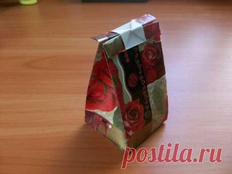 Простой способ за 5 минут сделать пакетики для подарков, семян, трав. Мастер-класс   Поделки и Подарки Своими Руками   Яндекс Дзен