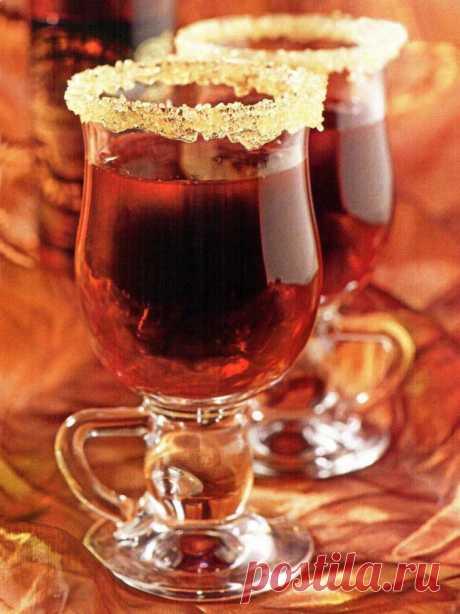 Горячий смородиновый коктейль