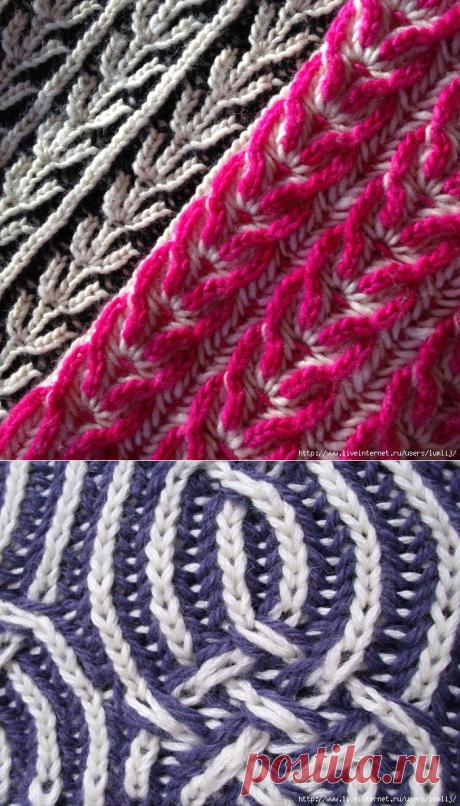 Техника вязания Brioche Stitches