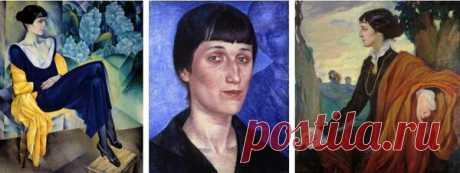 6 неожиданных портретов Анны Ахматовой | Шакко: об искусстве | Яндекс Дзен