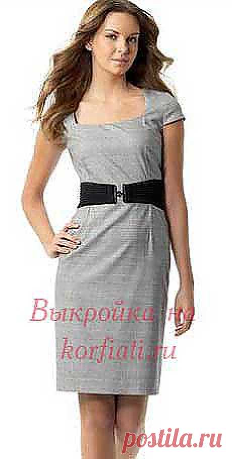ШКОЛА ШИТЬЯ: Выкройка платья футляр от Анастасии Корфиати