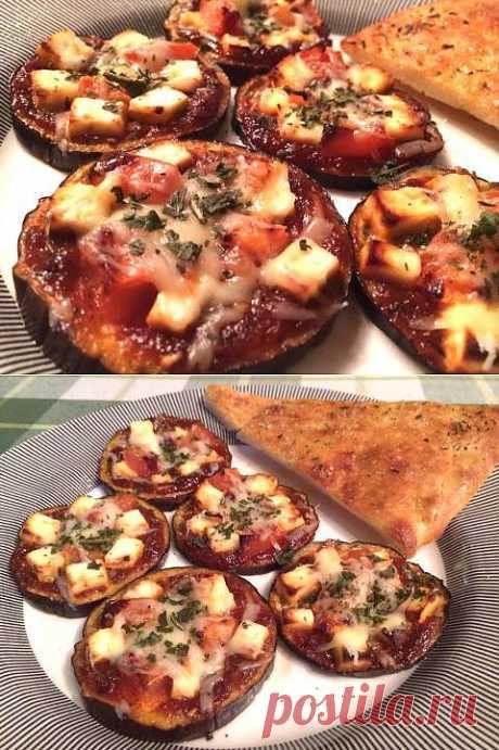 ПИЦЕТТИ ИЗ БАКЛАЖАНА (Pizzette di melanzane) | 4vkusa.ru
