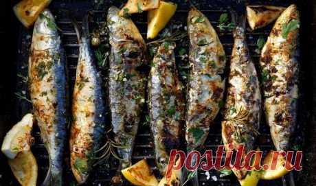 Готовлю рыбу так, что она получается вкуснее любых шашлыков. Для этого я беру скумбрию, лимон и сливочное масло